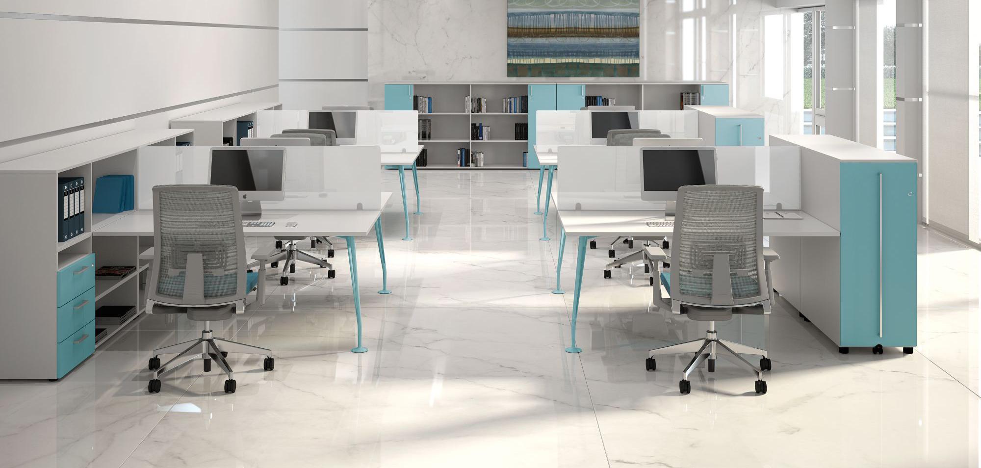 La scrivania protagonista indiscussa dell 39 arredo ufficio for Scrivania arredo
