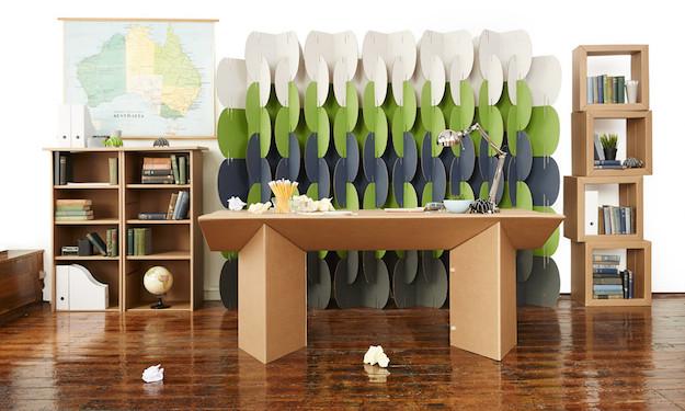Ufficio eco sostenibile i mobili in cartone officebit for Arredi in cartone