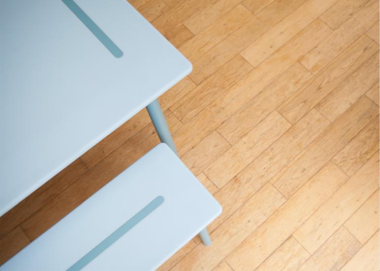 HI-MACS tavolo e panche