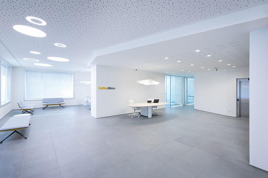 Illuminazione Ufficio Direzionale.L Illuminazione Dell Istituto Raffles Officebit Arredi E