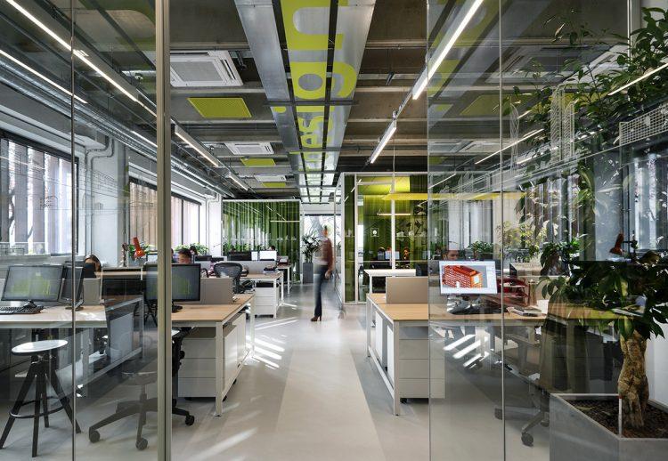 I Nuovi uffici Progetto CMR - Aree operative