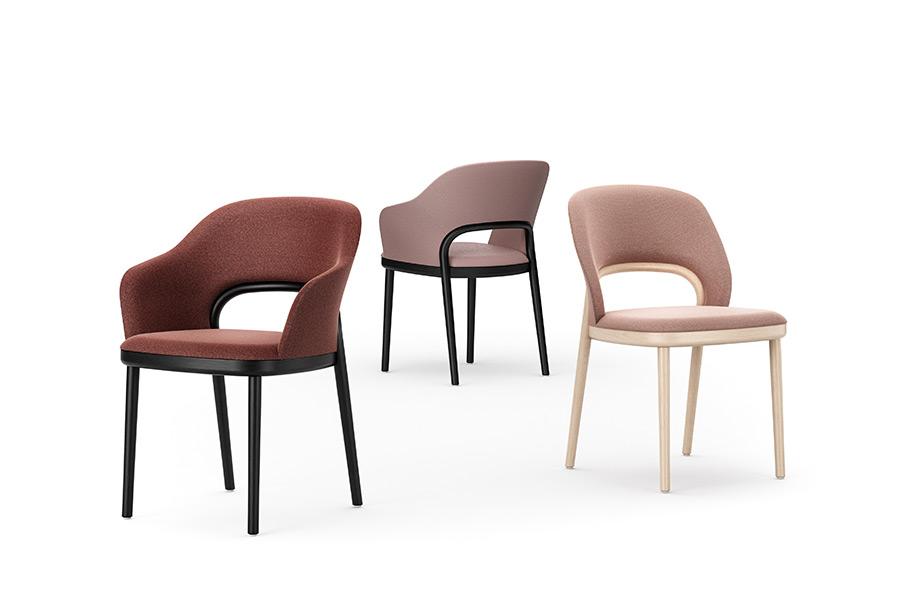 La nuova sedia Thonet, sinonimo di eleganza contemporanea ...