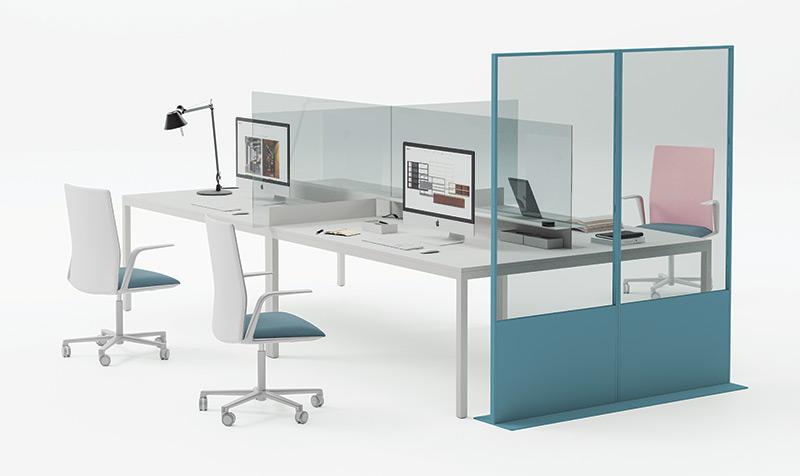 per Ufficio su Scrivania di Studenti,40x30cm Call Center Classi di Studio Biblioteche HUOQILIN Divisorio da Scrivania