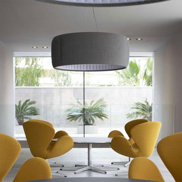 lampade eleganti e fonoassorbenti