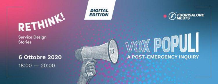 Vox Populi. A post- emergency inquiry.