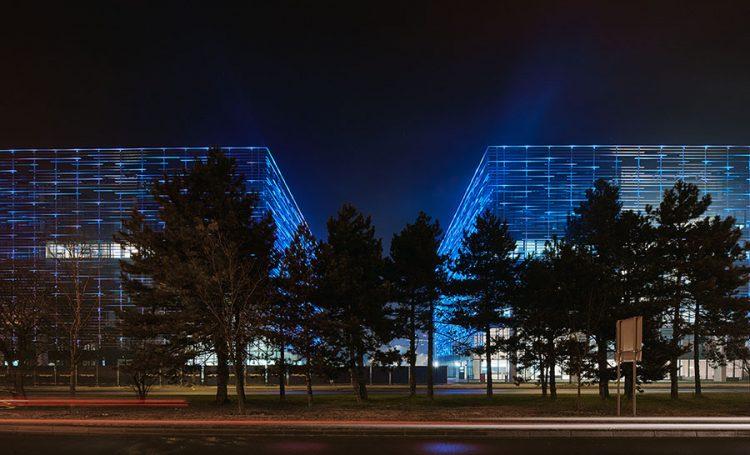 Matrix Office Park illuminazione