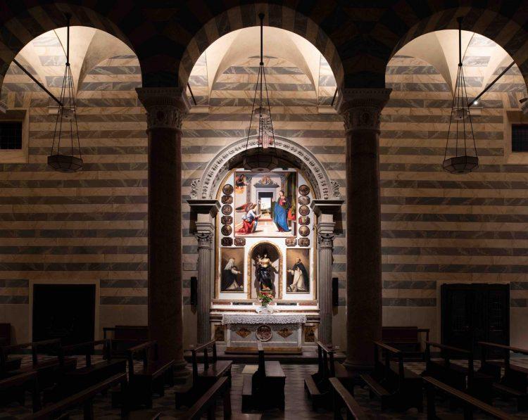 luce per la cattedrale di Volterra