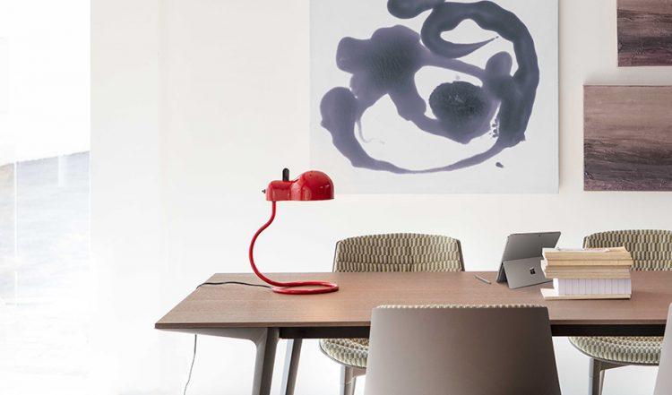 Minitopo lampada da tavolo