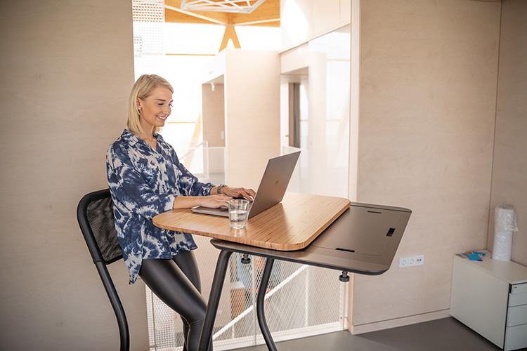 scrivania tapis roulant