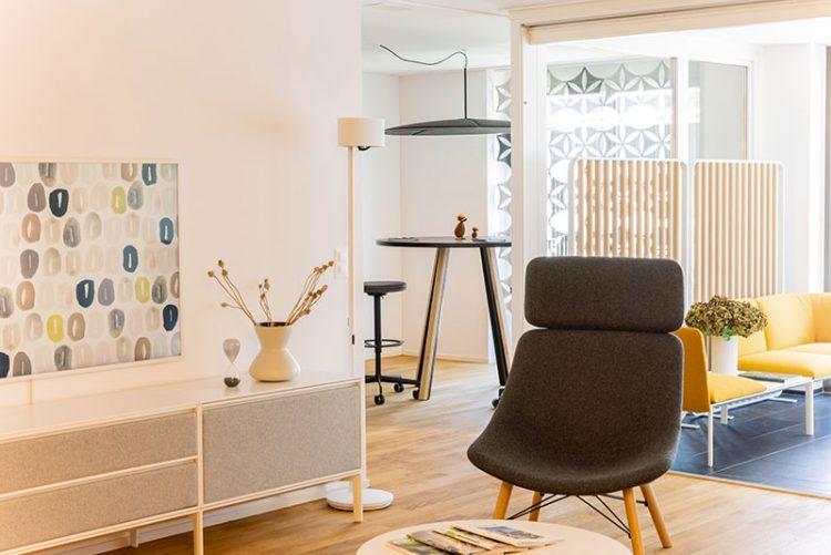 nuovo spazio dedicato al design di Lapalma a Lucerna